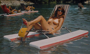 Personal Folding Pedal Boat